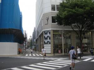 ココマイスター名古屋店への道のり1