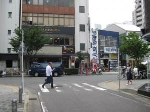 ココマイスター名古屋店への道のり6