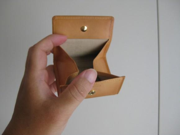 ココマイスター パティーナ BOX小銭入れ 1年後