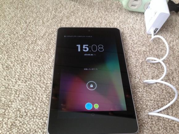 アンドロイドタブレット ASUS Nexus7(ME370T) 充電できない 解消
