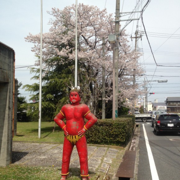 稲沢市の隠れ花見スポット(4) 稲沢市役所の桜