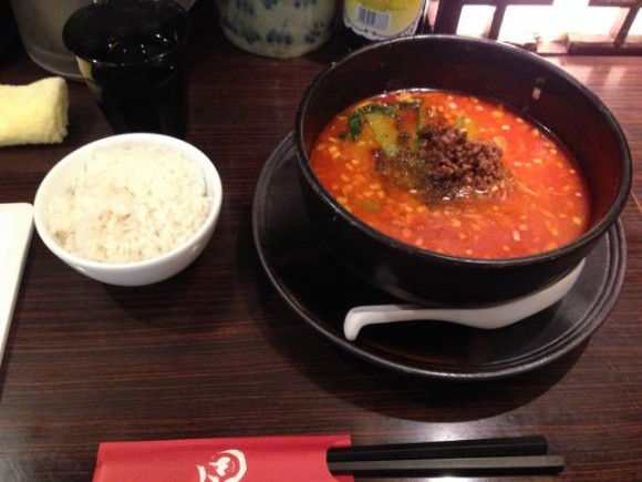 ユニモールの想吃担担面(シャンツーダンダンミェン)で担々麺食べてきました