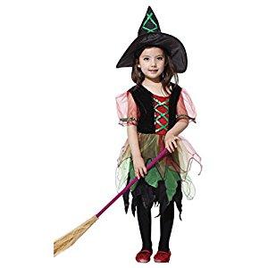 魔女をモチーフにした子供用ハロウィンコスプレ