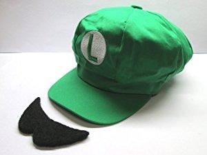 スーパーマリオ コスプレ帽子 ハロウィン
