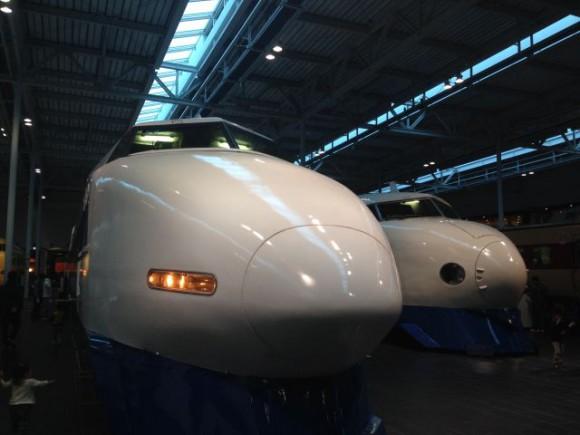 100系新幹線と0系新幹線