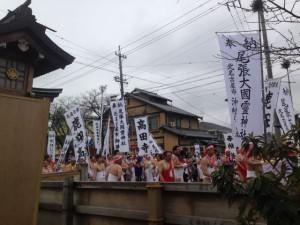 2017年の国府宮はだか祭を見てきました。