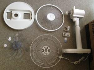 おすすめのDCモーター扇風機 アイリスオーヤマ LFD-304Lの使い心地